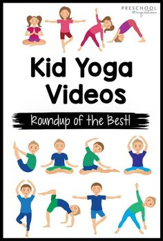 We found all the best kid yoga videos out there! They're such a sanity saver and guaranteed to lighten everyone's mood! Great for bad weather days or as part of your daily routine in the home or classroom.