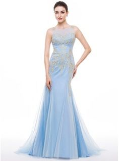 http://www.jjshouse.com/Trumpet-Mermaid-Scoop-Neck-Sweep-Train-Tulle-Prom-Dress-With-Embroidered-018056782-g56782/color__sky_blue