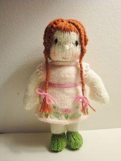 Waldorf doll knit pattern