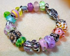 Wonderful Easter themed Trollbeads bracelet!