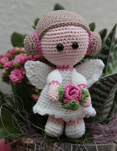 Bloemenmeisje van Nennedesign.