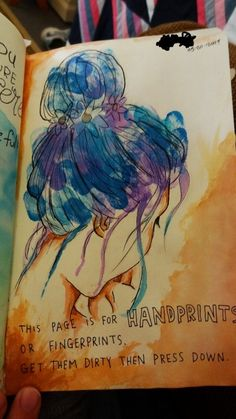 bobbibuddy:  This is my favorite wreck this journal pages that I have done.