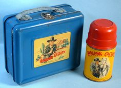 Hop Along Cassidy lunch box 1950's