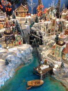 Base ideas for Christmas villiages