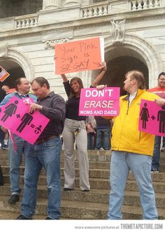 How to properly interrupt an anti-gay protest…