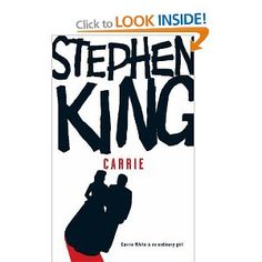 Carrie by Stephen King// my favorite  book