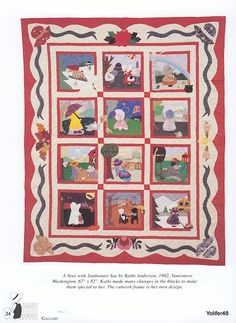 Sunbonnet Sue -Los meses del año- Patchwork and Quilting-Book