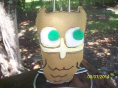 Stuffed Toy Wise Old Owl  Plush Pillow Toy by NAESBARGAINBASEMENT, $10.00