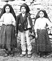 the three children, seers of Fatima.  Francisco prayed many rosaries.