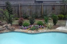 Poolside Landscaping, St. Charles Place,  Bossier City, LA