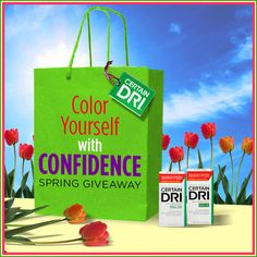 Certain Dri Color Yourself with Confidence Spring Giveaway WIN a $50 American Express Gift Card & a Certain Dri Prize Package Ends 5/9