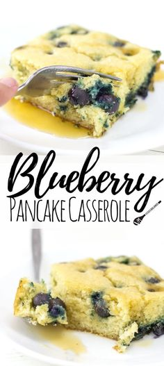 Blueberry Pancake Casserole Recipe For Those Entertaining A Crowd. Best Brunch Recipe Ever. Whisk Together In A Bowl, Pour Into A Pan And Bake It Is That Easy, Not To Mention A Much Healthier Option Gluten Free, Dairy Free, Low Sugar Via Veggiebalance Pancake Casserole Recipe, Brunch Casserole, Casserole Recipes, Gluten Free Breakfast Casserole, Pancake Recipes, Brunch Ideas For A Crowd, Food For A Crowd, Recipes For A Crowd, Breakfast And Brunch
