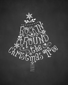 Chalkboard-Christmas-Printable-Rockin-Around-the-Christmas-Tree-For-Personal-Use-Only-upcycledtreasures.jpg 2 400×3 000 képpont