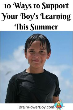 10 very easy things to do this summer to support your boy's learning. Not your typical summer learning list. Creative Activities For Kids, Kids Learning Activities, Summer Activities For Kids, Lessons For Kids, Educational Activities, Fun Learning, Mothers Of Boys, Summer Fun, Summer Ideas
