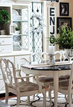 Dining room table makeover idea paint dining room table and paint dining room table makeover sxxofo