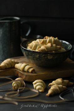 leckere Zimthörnchen, einfach gebacken - ZimtkeksundApfeltarte.de