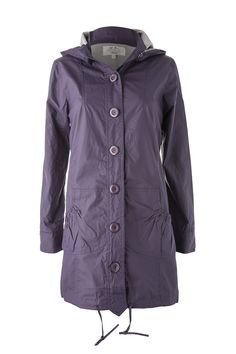 Dusty Parka Grape. Our Parka shape is a great favourite. We've never done a purple before but we love it!