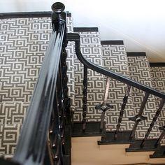Greek Key Stair Runner