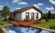 Rodinný dům Bungalow 11 - typový projekt G SERVIS