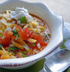 Friday feast: Lauren Conrads (mums) taco soup.   I made this, it was delicious. Next time I will add shredded chicken instead of ground turkey. I added noodles to make it heartier, I'd add rice instead next time.