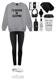 """""""Untitled #370"""" by dutchfashionlover ❤ liked on Polyvore featuring Vans, CLUSE, Umbra, Samsung, casual and lazy"""