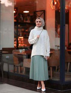 48 Ideas Dress Hijab Fashion Muslim Girls Source by hijab Hijab Casual, Hijab Outfit, Hijab Dress, Street Hijab Fashion, Muslim Fashion, Modest Fashion, Skirt Fashion, Fashion Outfits, Trendy Fashion