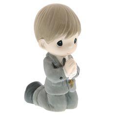 First Communion Kneeling Figure - Boy