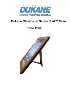 dukane-classroom-series-i-pad-cases-2013 by DukaneAVMarketing via Slideshare