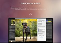 Whether you want to see how accurate your camera's AF is, or use the info for teaching, Show Focus Points is a free plugin for Lightroom to help.