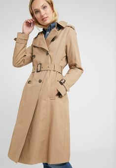 Lauren Ralph Lauren Trenchcoat - sand for Free delivery for orders over Ralph Lauren, Trench Beige, Fabric Material, Coat, Mantel, Mens Fashion, Long Sleeve, Sleeves, Jackets