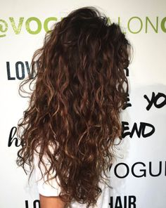 17 best Ideas for hairstyles curly long natural Wavy Hair Curly hairstyles Ideas Long Natural Permed Hairstyles, Cool Hairstyles, Natural Wavy Hairstyles, Long Curly Haircuts, Curly Hair Styles, Natural Hair Styles, Curly Wavy Hair, Naturally Curly Hair, Curly Balayage Hair