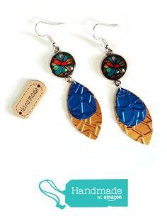 Boucles d'oreilles Multicolores Cabochons Gouttes Capsules Nespresso Recyclage Argentées Dorées Or Bleues à partir des Cap&Pap https://www.amazon.fr/dp/B071GKLQGL/ref=hnd_sw_r_pi_dp_opUFzbJ08F1Q0 #handmadeatamazon