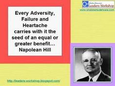 The adversity into benefit connection