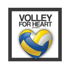 """Volley for Heart"" editia a-II-a, martie 2018 k Tech Logos, Heart"