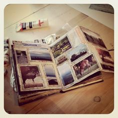 photo travel journal - love the foldout pages