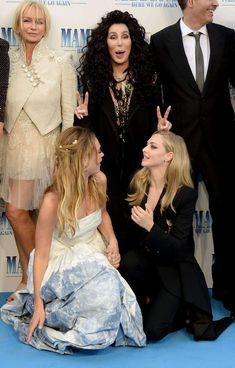 Mamma Mia, Meryl Streep, Cher Photos, Here I Go Again, Avant Premiere, Lily James, Marvel, Amanda Seyfried, 2 Instagram