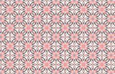 Iris - Pink mural
