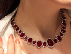 Ruby Necklace.