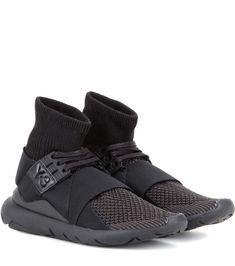 Y-3 Qasa Elle Lace Sneakers. #y-3 #shoes #sneakers