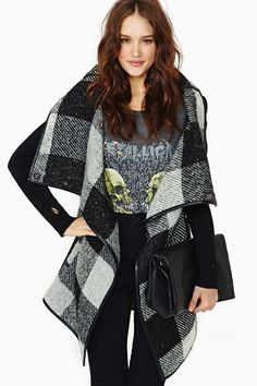 Love this Wrap Coat from Nasty Girl <3