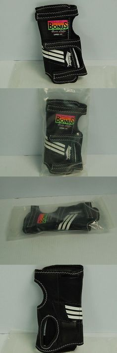 Gloves 111256: Masters Wristmaster Ii Bonus Positioner 8 1/2 Inches Black Leather Right Large BUY IT NOW ONLY: $33.95