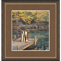 """Reflections on Golden Pond"" By Darrell Bush Signed Limited Edition, Unframed: ""Reflections on Golden… #Hunting #Shooting #Fishing #Camping"
