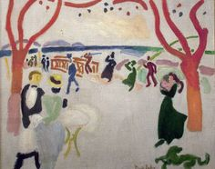 The Passers-By by Raoul Dufy