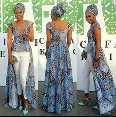 High Low Ankara Dress High-low African print Ankara by Zedstylez