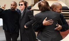 Kanye West warmly embraces old friend Sir Paul McCartney