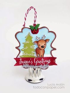 "So cute! December 3 ~ ""5 Days of Christmas"" from My Creative Time blog"