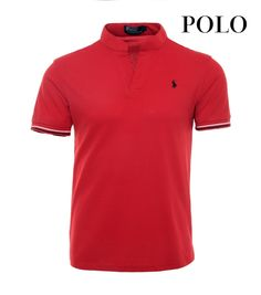 Nouvelle Mode Polos Ralph Lauren Polo Homme 08 Rouge