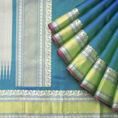 Kanakavalli Handwoven Kanjivaram Silk Sari 1014009 - Sari / All Saris - Parisera
