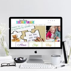 L A U N C H E D! A new site for @teachingsecondgrade Check it out. I really love the logo on this one and had a lot of fun working with Tracy. Head over to her #teacherspayteachers site for her awesome products. Tracy is just getting started on #wordpress but she's been on #tpt for a while and has a full shop over there. Show her some love. ----------------------- Are you ready to launch your #creativebusiness online and need a custom WordPress site and some branding? I'm scheduling for May…