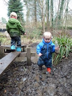 After the snow....getting out in the mud